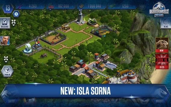 Jurassic World™: The Game تصوير الشاشة 14