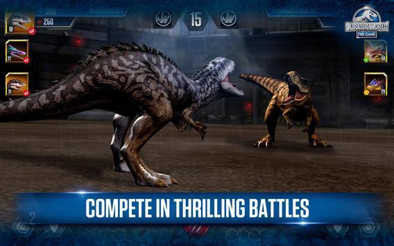 Jurassic World™: el juego captura de pantalla 16