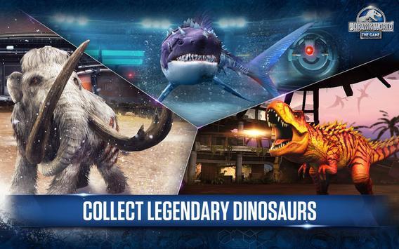 Jurassic World™: The Game تصوير الشاشة 8