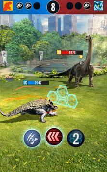 Jurassic World Alive screenshot 15