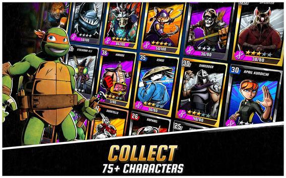 Ninja Turtles: Legends تصوير الشاشة 10