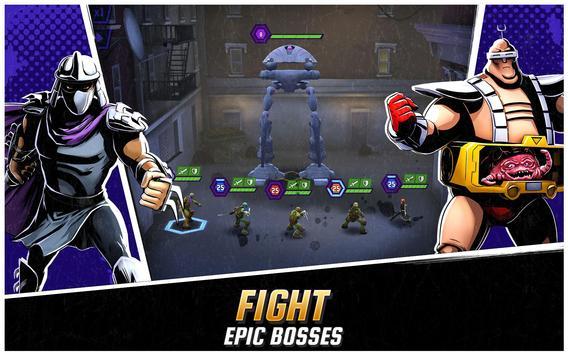 Ninja Turtles: Legends تصوير الشاشة 1