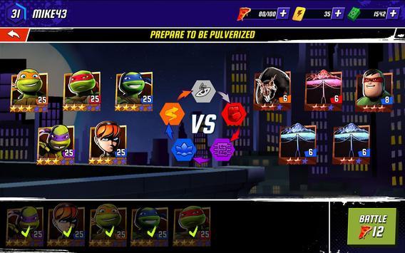 Ninja Turtles: Legends تصوير الشاشة 6