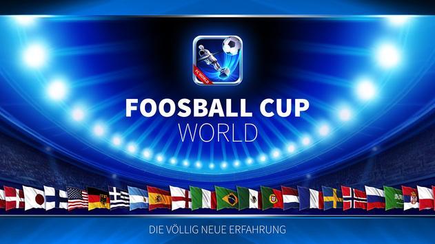 Kicker Weltmeisterschaft Plakat