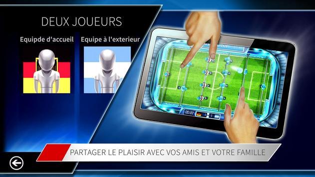 Baby-foot Coupe Mondiale capture d'écran 4
