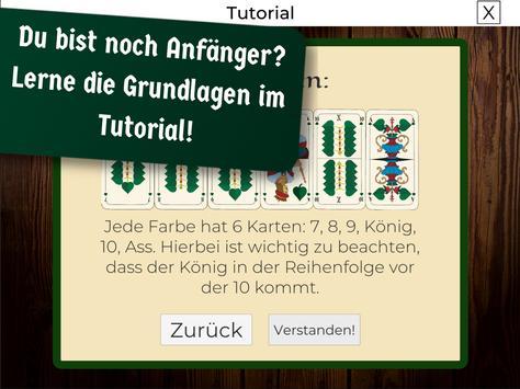 Schafkopf Offline Lernen screenshot 9