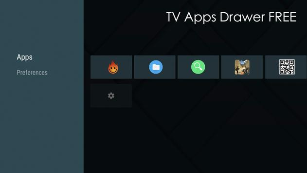 TV Apps Drawer Free screenshot 1