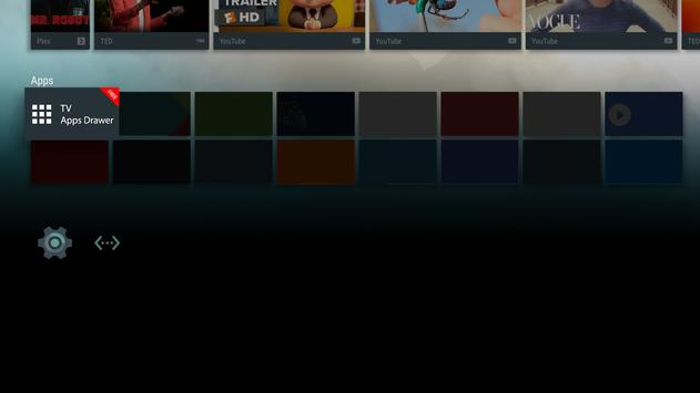 TV Apps Drawer Free screenshot 2