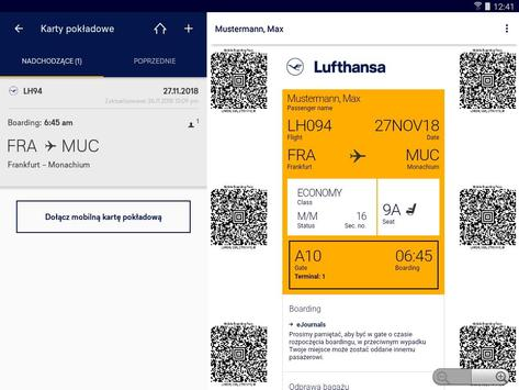 Lufthansa screenshot 13