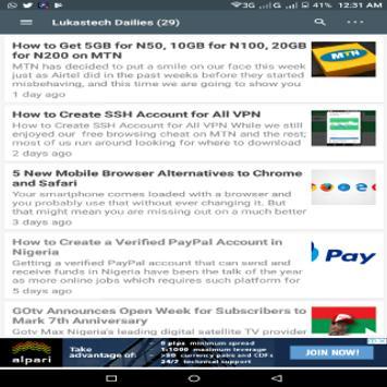 Lukastech Blog screenshot 3