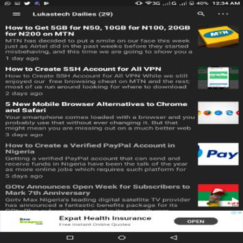 Lukastech Blog screenshot 5