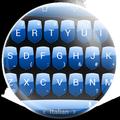 Keyboard Theme Shield Blue