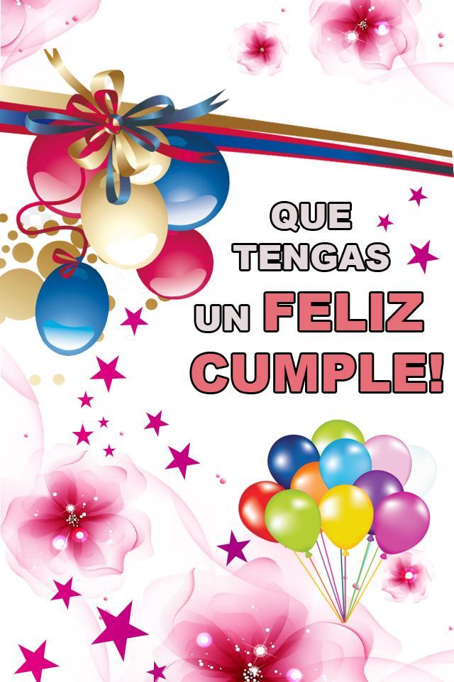 Feliz Cumpleaños Con Frases Bonitas Para Dedicar For Android