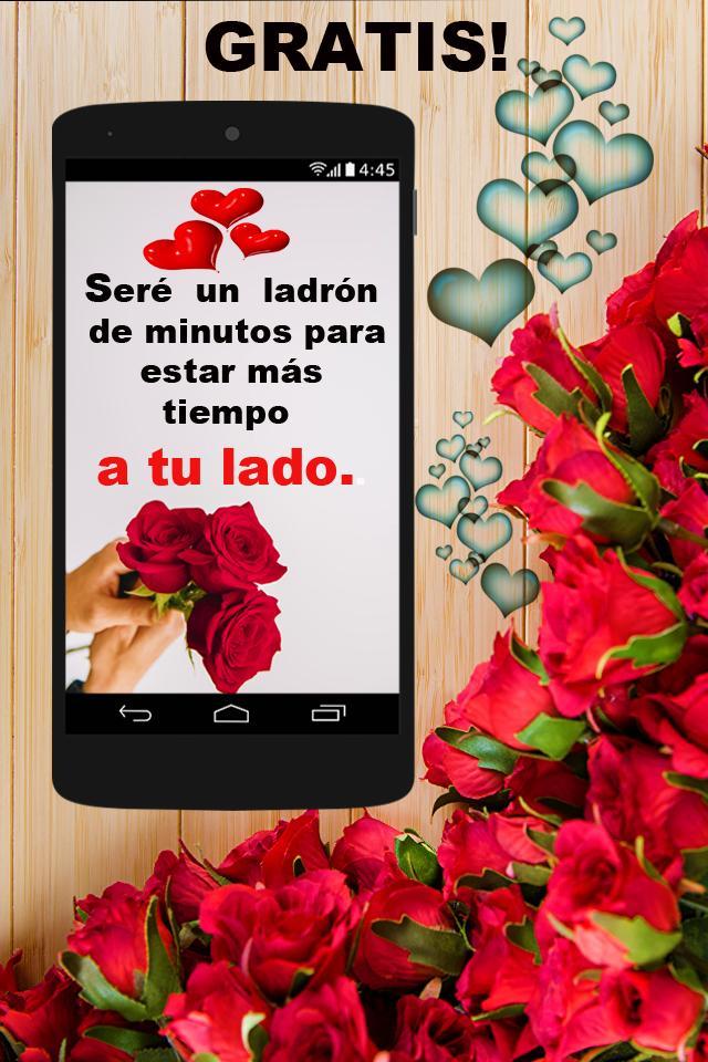Flores Y Rosas Con Frases Bonitas Gratis For Android Apk