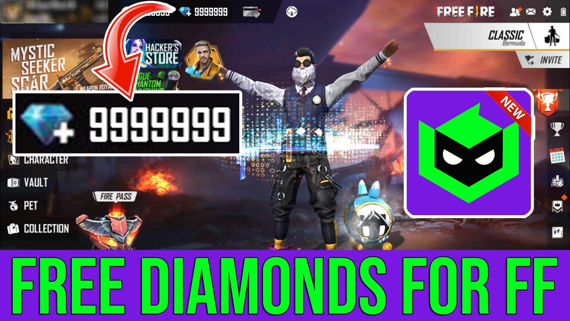 """""""موقع"""" free fire hack diamond.com    2021"""