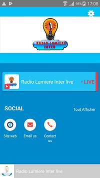 Radio Lumiere Inter screenshot 1