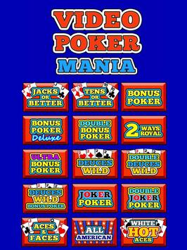 Video Poker Mania screenshot 3