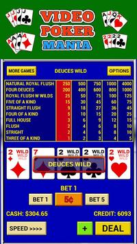 Video Poker Mania screenshot 1