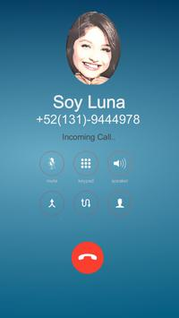 Fake Call From Soy Luna screenshot 5