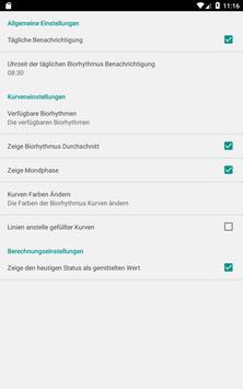 Biorhythmus Rechner Screenshot 23