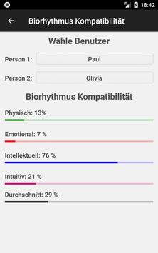Biorhythmus Rechner Screenshot 5