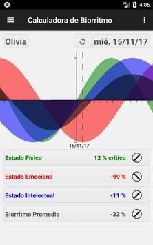 Calculadora de Biorritmo Poster