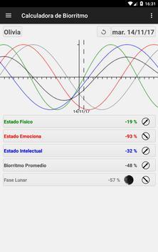 Calculadora de Biorritmo captura de pantalla 18