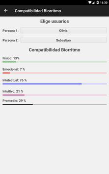 Calculadora de Biorritmo captura de pantalla 20