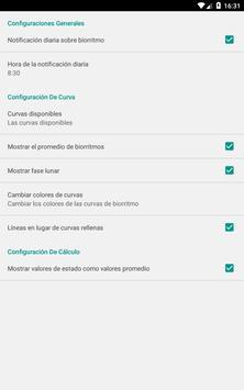 Calculadora de Biorritmo captura de pantalla 21