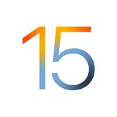 Launcher iOS 15-icoon