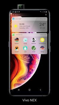 Launcher iOS 12 imagem de tela 1
