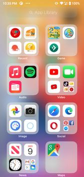 Launcher iOS 15 screenshot 1