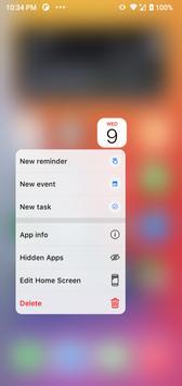 Launcher iOS 15 screenshot 6