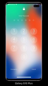 قفل الشاشة والإشعارات iOS 14 الملصق