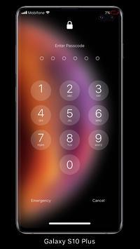 قفل الشاشة والإشعارات iOS 14 تصوير الشاشة 4