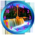 Waterfall Clock Widget