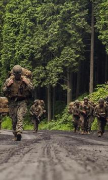 Army Live Wallpaper screenshot 1