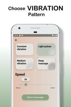 Body Massager Vibration captura de pantalla 2