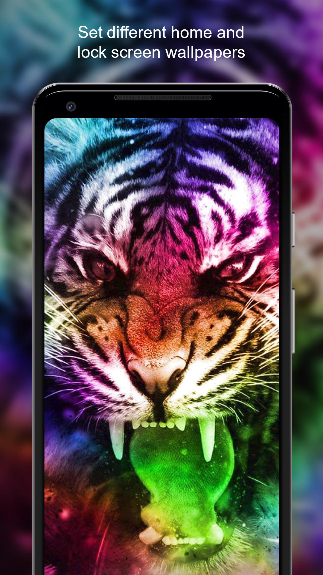 Neon Animals Wallpaper Hd For Android Apk Download