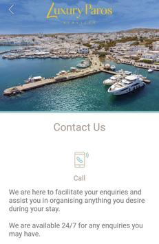 Luxury Paros screenshot 2