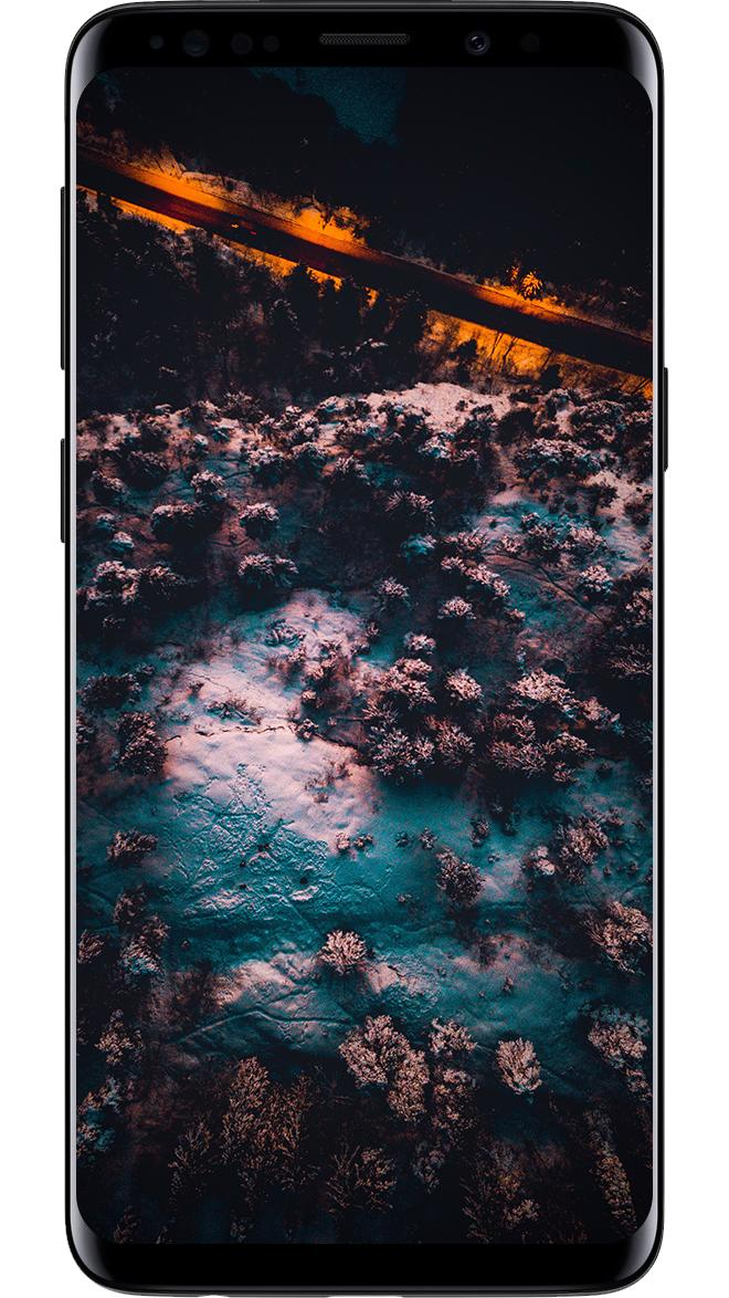 Galaxy S10 Wallpapers 4k Amoled Darknex Pro For Android Apk