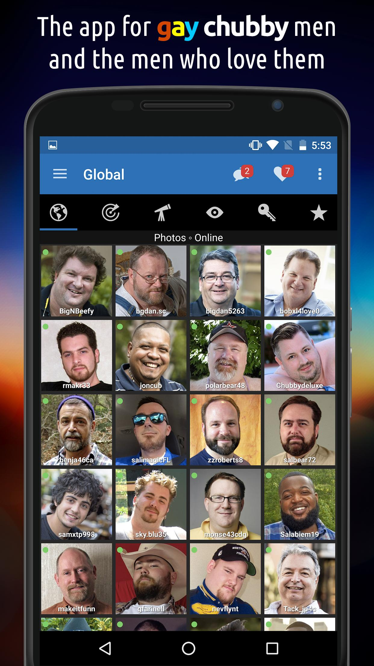 BiggerCity is a dating service for gay men of size(