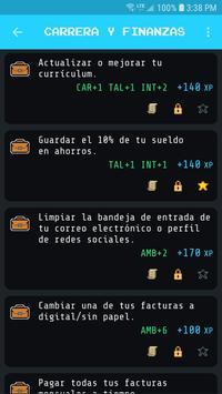Level Up Life captura de pantalla 2