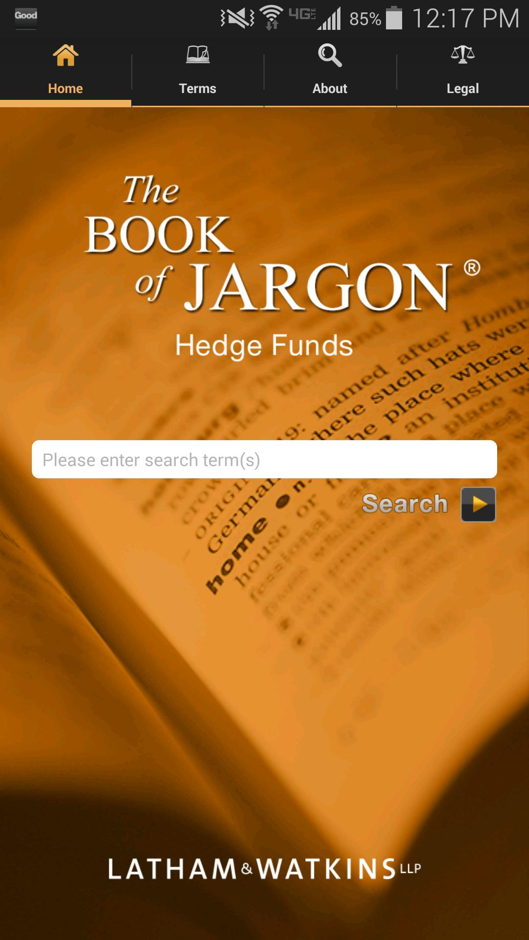 The Book of Jargon® - HF poster