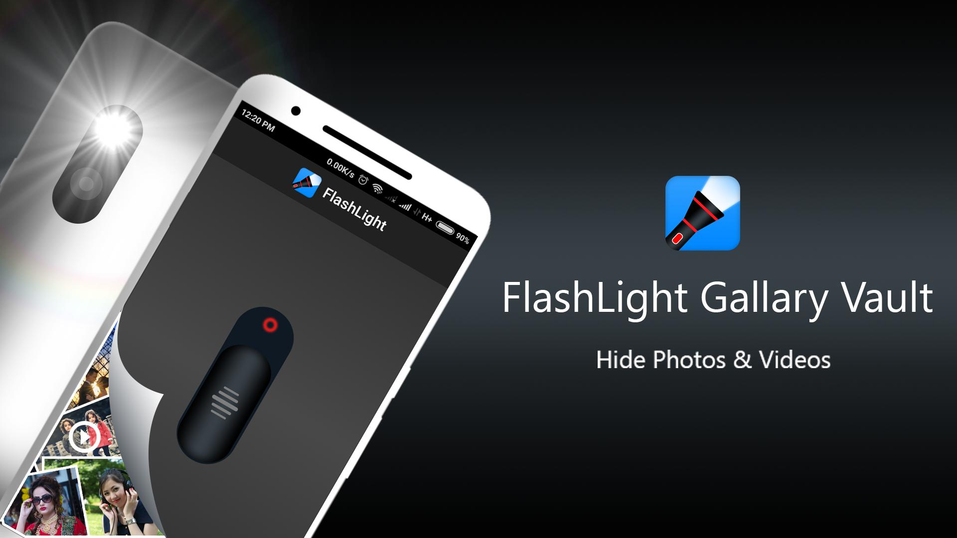Flashlight Gallery Vault for Android - APK Download