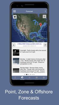 NOAA Marine Weather Forecast 截圖 4