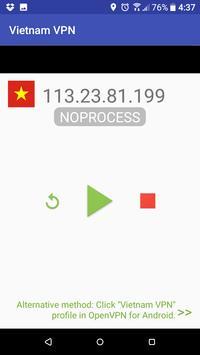 1 Schermata Vietnam VPN