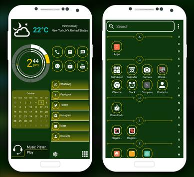 Launcher Elegan 2 - 2018, Theme Launcher Gratis screenshot 7