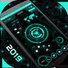 Futuristic UI Launcher 2019 - Hitech Theme icono