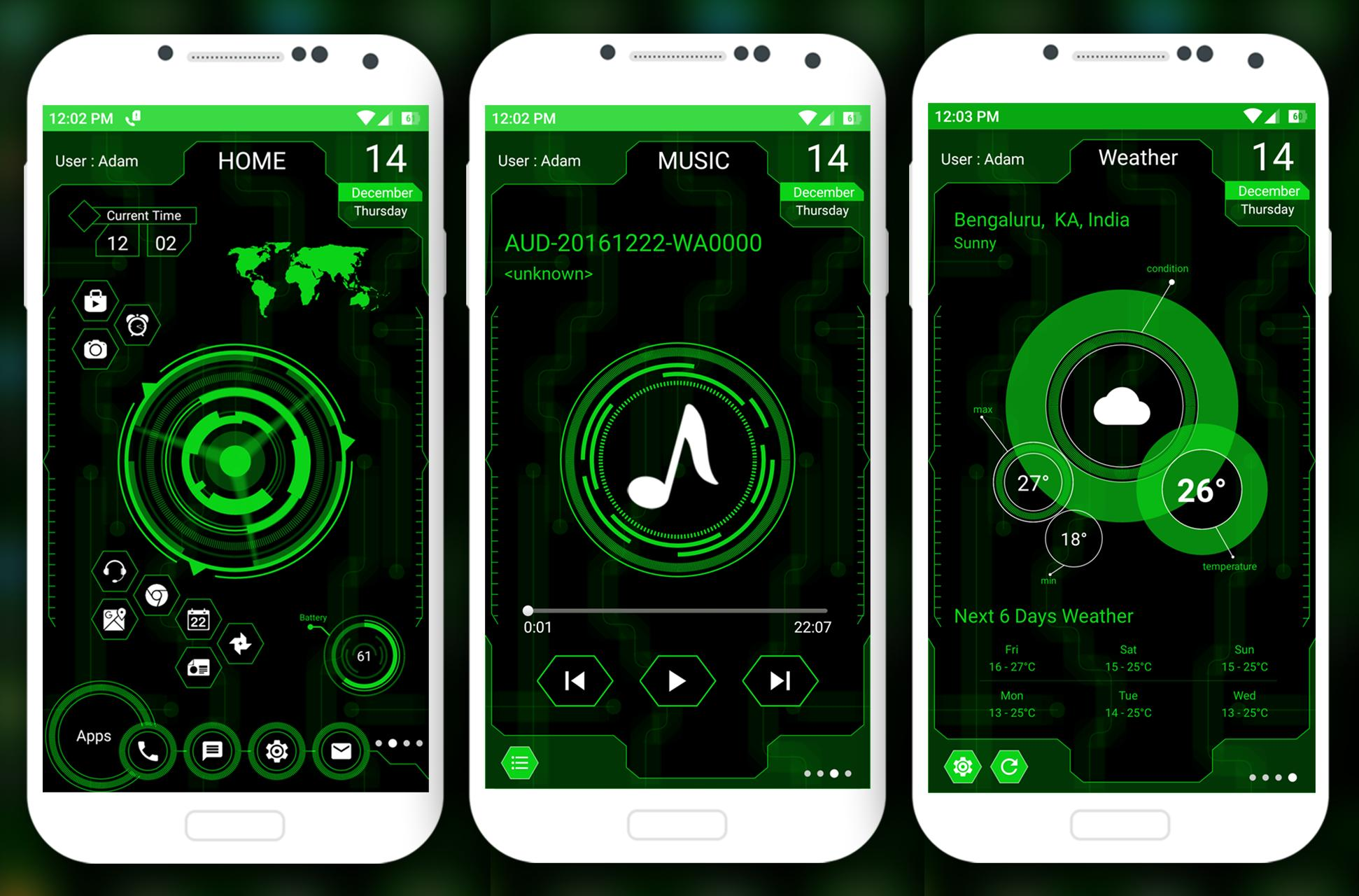 Futuristic UI Launcher 2019 - Hitech Theme for Android - APK Download